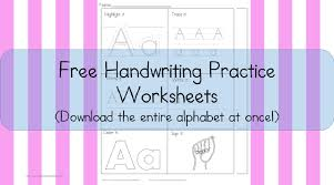 the top 10 best blogs on handwriting worksheets