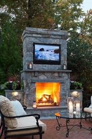 Backyard Oasis Ideas Patio Fireplace Outdoor Living Pinterest Fireplaces On And