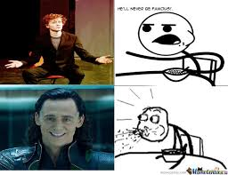 ah tom hiddleston by hellian meme center