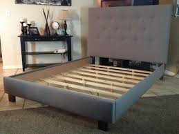 Platform Bed With Storage Building Plans by Bed Frames Diy King Bed Frame Plans Farmhouse Bed Pottery Barn