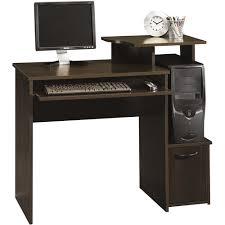 Walmart Desk Computer Sauder Via Reception Desk In Classic Cherry Walmart