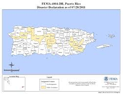 Maps Puerto Rico by Puerto Rico Severe Storms Flooding Mudslides And Landslides Dr