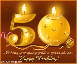 wish a happy 50th birthday free milestones ecards greeting cards