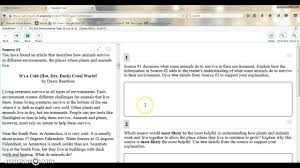 sbac tutorial ela performance task global notes feature youtube