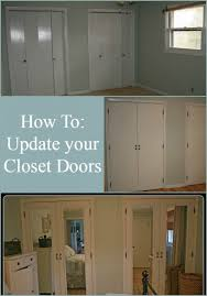 How To Build Bi Fold Closet Doors Diy Closet Doors Makeover My Repurposed
