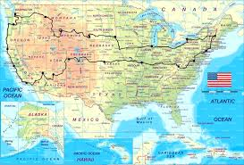 best road maps for usa this map shows the ultimate us road trip mental floss randy