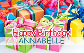 pictures happy birthday annabelle
