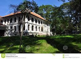 ho chi minh city saigon old villa vietnam stock photo image
