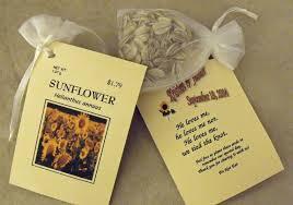 sunflower wedding favors 10 best wedding favors for fall weddings weddingelation