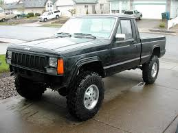 daily turismo pioneer longbed 1989 1992 jeep comanche information and photos zombiedrive