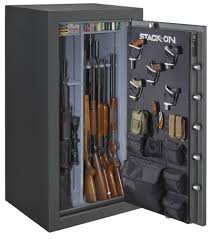 stack on 22 gun safe with electronic lock