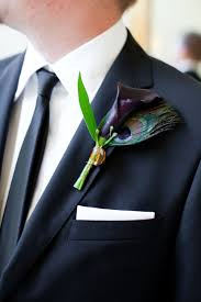 calla boutonniere corsage boutineers and flower plum calla boutonniere