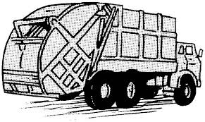 driving garbage truck coloring pages download u0026 print online