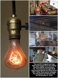longest lasting light bulb the centennial light is the world s longest lasting light bulb