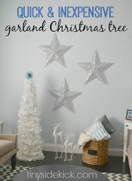 diy garland tree modern decor decor