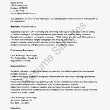 radiologic technologist cover letter radiologic letter cover letter