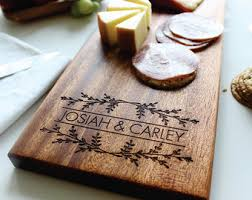 personalized cheese board cheese board personalized cutting board custom name wedding