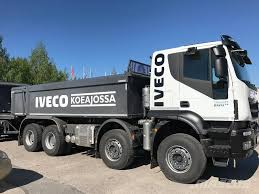 volvo kamioni iveco trakker at340t50 myyty kiper kamioni godina proizvodnje