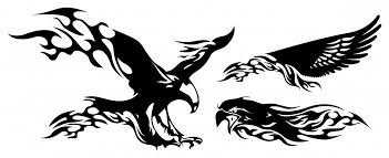 firey eagle tribal eagle tattoo designs free tattoo designs