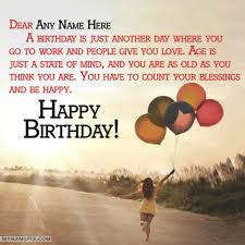 Happy Birthday Wishes Happy Birthday Wishes With Name