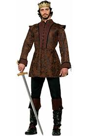 brown costume forum novelties men s king costume coat brown standard