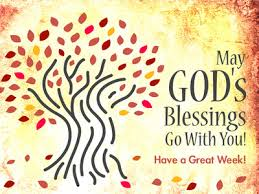 image blessing powerpoint themes autumn trees christart