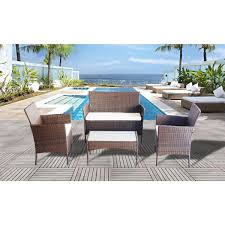 Rattan Patio Furniture Sets by Piece Outdoor Rattan Patio Furniture Set