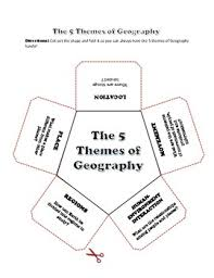5 themes of geography lesson themes of geography lesson and back to school postcard writing activity