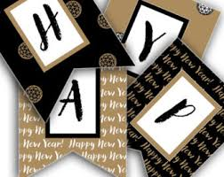 New Year Decoration Printable by Merry Christmas Banner Christmas Party Printable Sign