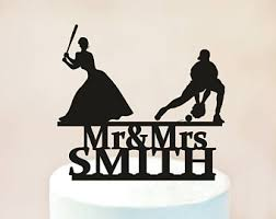 baseball cake toppers topperroom by topperroom on etsy