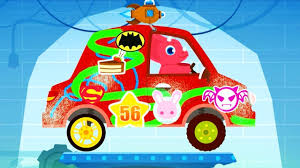 dinosaur cars truck driver monster truck car driving