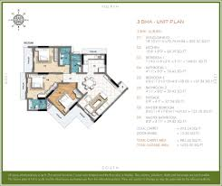 The O2 Floor Plan by Ahuja O2 Sion East Rates Brochure Images Video
