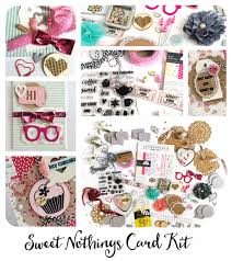 card kit sweet nothings road classic crafting kits