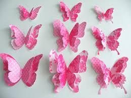 modern home interior design wall art butterflies creative