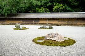 zen rock garden kyoto japan stock photo image 5579526