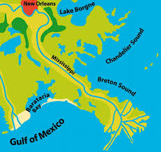 Map Of The Mississippi River Modeling River Delta Formation