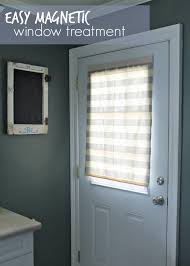 easy magnetic window treatment louisiana bride
