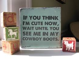 cowboy boots vintage style sign hand painted cowboy or