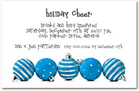 silver blue ornaments invitations invitations