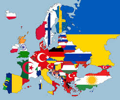 Map Of Eastern European Countries 2nd Largest Nationality Living In Each European Country