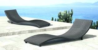 modern outdoor lounge furniture urban outdoor chaise lounge in white