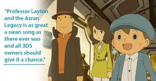 professor layton and the azran legacy 3ds review