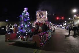 christmas light parade floats sheffield s christmas parade archives timesdaily com