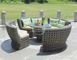 Resort Style Patio Furniture Cheap Bali Island Holiday Style Outdoor Wicker Furniture Rattan