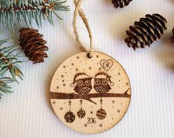 personalized christmas ornaments wedding christmas ornaments etsy
