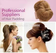 chignon maker updo hair padding for hair up styles pad hair for hair