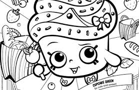 Shopkins Coloring Pages Big Coloring