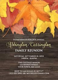 free printable family reunion invitations free printable