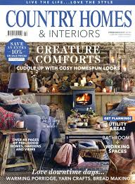 Home Interior Design Magazines Uk 100 Country Homes Interiors Magazine Subscription Modern