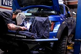 Ford Raptor Blue - top ford performance shop in southern california stillen garage